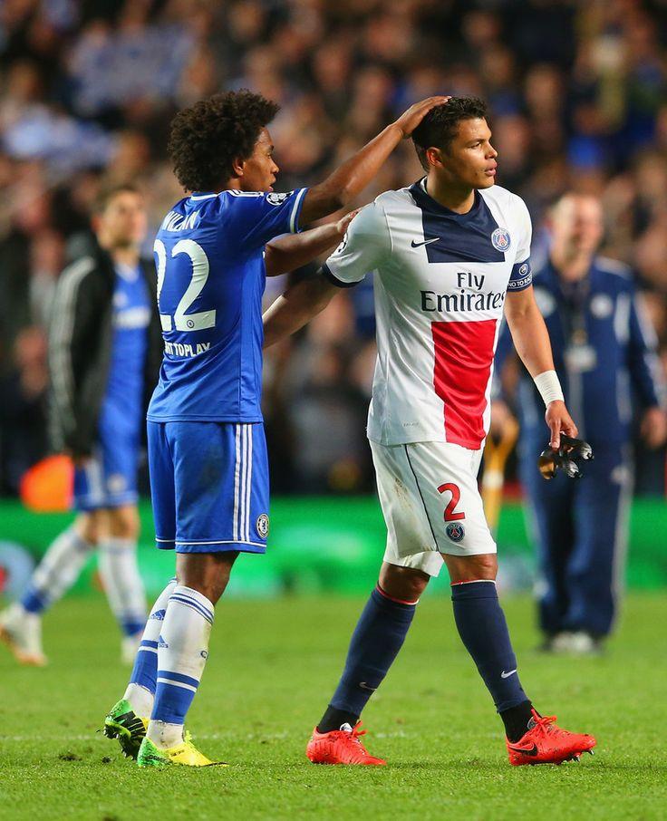 Thiago Silva Photos: Chelsea v Paris Saint-Germain FC