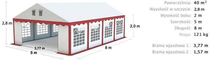 Party Tent 5x8
