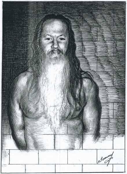 Thomas Silverstein's Self-Portrait Artwork