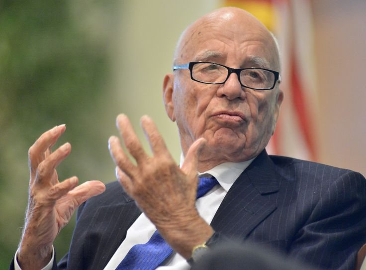 "In an interview billionaire media mogul Rupert Murdoch muses on climate change, saying ""we shouldn't be building windmills and all that rubbish."""
