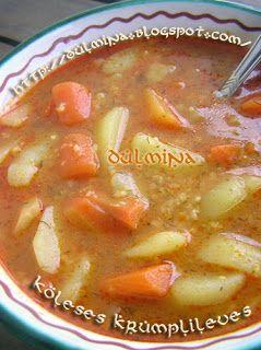 Dulmina tündérkonyhája: Köleses krumplileves (vegán)
