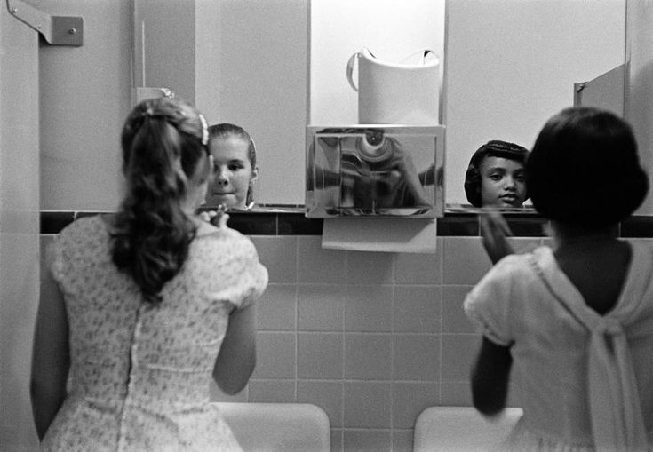 USA. Virginia. During civil rights strike in America. A party to introduce blacks to whites. 1958.  (Eve Arnold): Eve Arnold, Black Civil, Schools, Parties, Whitesvirginia 1958, Black History, Photo, Introducing Black, Civil Rights Movement