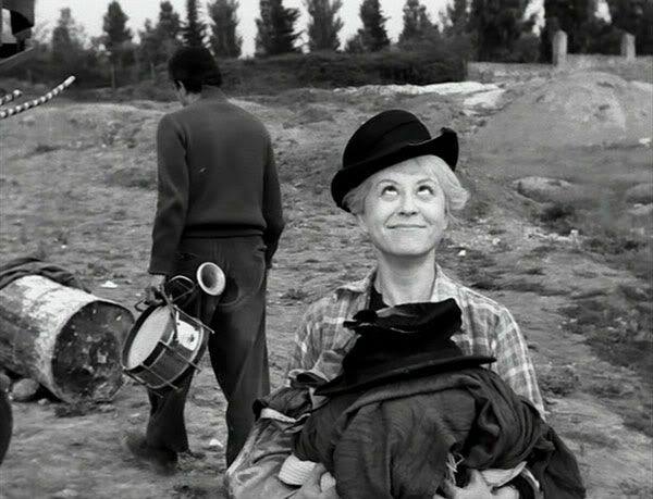 One of my favorite moments in film EVER.  La Strada