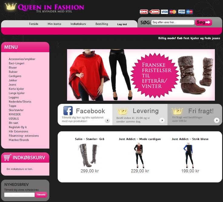 Modetøj, festtøj, støvler og accessories til kvinder online