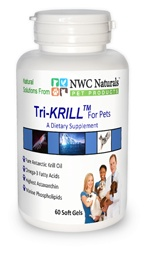 Tri-KRILL™ Krill Oil for Pets. The best Omega 3 supplement for dogs and cats! Convenient chewy tabs that help promote skin and coat health, and helps pets with arthritis. Increase flexibility and mobility.