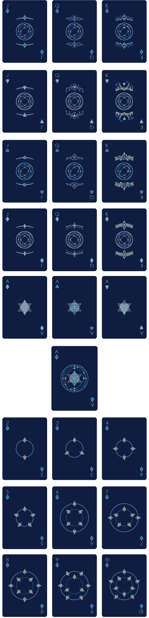 Bicycle® Arcana Playing Cards by Colton Marshall — Kickstarter