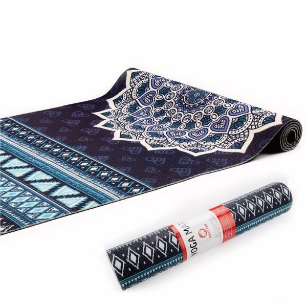 Just Released!  NEW Madala Laser-Printed Yoga Mat (ECO Certified PVC) with Yoga Bag FLASH SALE: 15% OFF   FREE Shipping Worldwide! LIMITED TIME OFFER (use code: