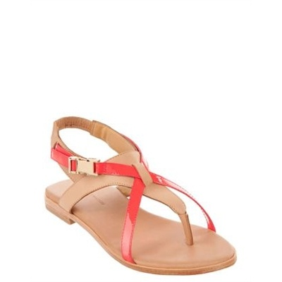 Watson x Watson - X Sandals - Strappy Sandals (Hyper & Beige)  Available at www.shoesonline.com.au
