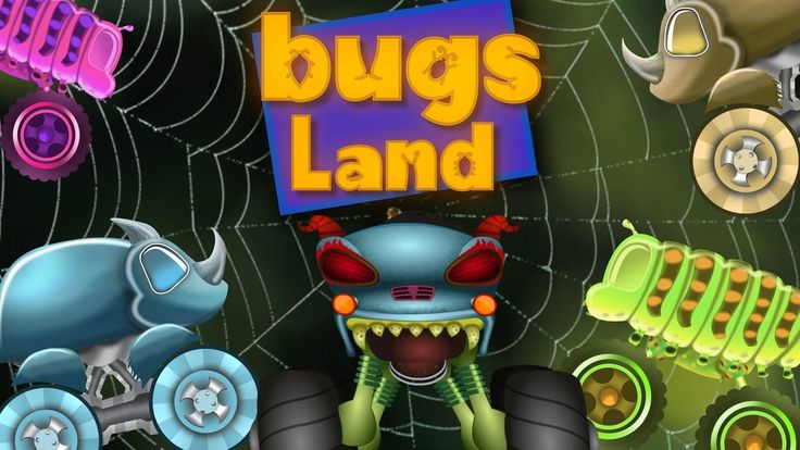 Haunted House Monster Truck | A visit to bugs land | Episode 31