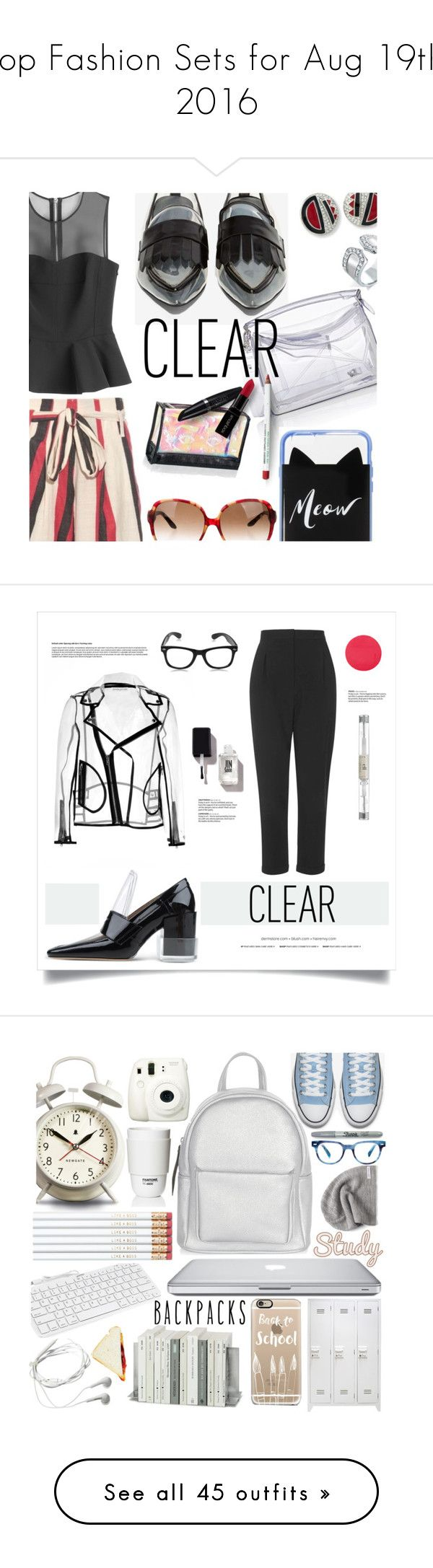 """""""Top Fashion Sets for Aug 19th, 2016"""" by polyvore ❤ liked on Polyvore featuring Kenneth Jay Lane, Bling Jewelry, Jeffrey Campbell, Loewe, Kate Spade, McQ by Alexander McQueen, ace & jig, Obsessive Compulsive Cosmetics, Christian Dior and Benefit"""