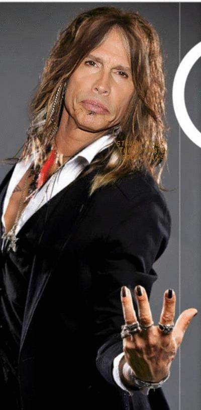 Chances are, you shouldnt dress like Steven Tyler. Only Steven Tyler can dress like Steven Tyler. So if your name isn't Steven Tyler and your band isn't #aerosmith...And also, like five men on the planet can paint their nails and wear eyeliner and look hot. One of them in particular. Anyway, you probably shouldn't risk it, mathematically speaking in consideration of most men.