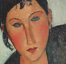 Modigliani, Soutine et leurs amis de Montparnasse  Pinacothèque  4 avril - 9 septembre