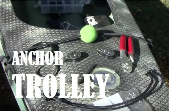 In this episode of Kayak Bassin, Chad Hoover shows you to setup an anchor trolley on a kayak. This episode was brought to you by Torqeedo Kayak Motors http:/...