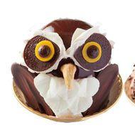 【激カワ】フクロウ&ネコのケーキが池袋ハンズに登場--フクロウファンは見逃せない! - えん食べ