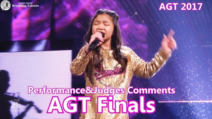 """Finals Angelica Hale Absolutely Amazing """"Symphony"""" &Comments America's G..."""