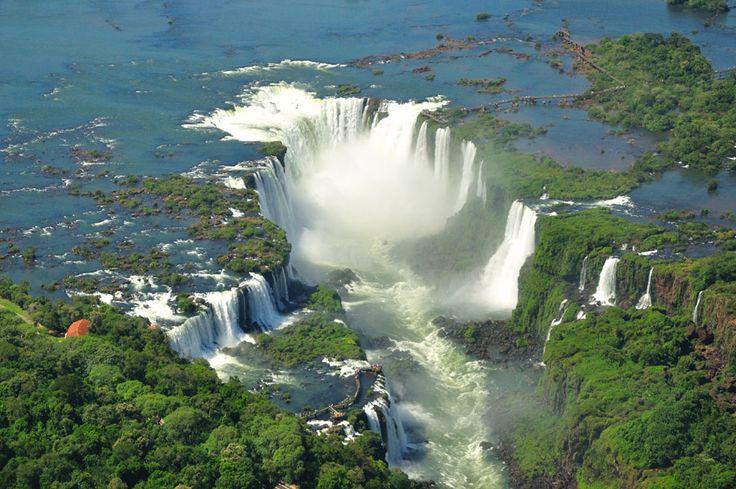 cataratas del iguazu-iguazu falls unas de las siete maravillas naturales del mundo