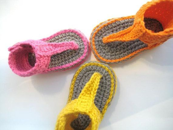 Crochet Pattern for Baby Sandals or Booties by CrochetBabyBoutique, $4.99