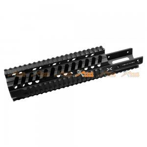 Fashion Defence Aluminum 11.8 Inch Long KRISS Rail for KWA KRISS VECTOR Airsoft GBB (Black)