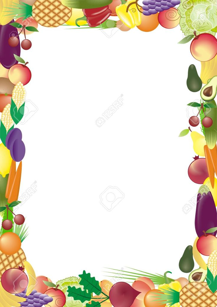 11354921-fruits-and-vegetables-vector-frame-Stock-Vector.jpg (919×1300)