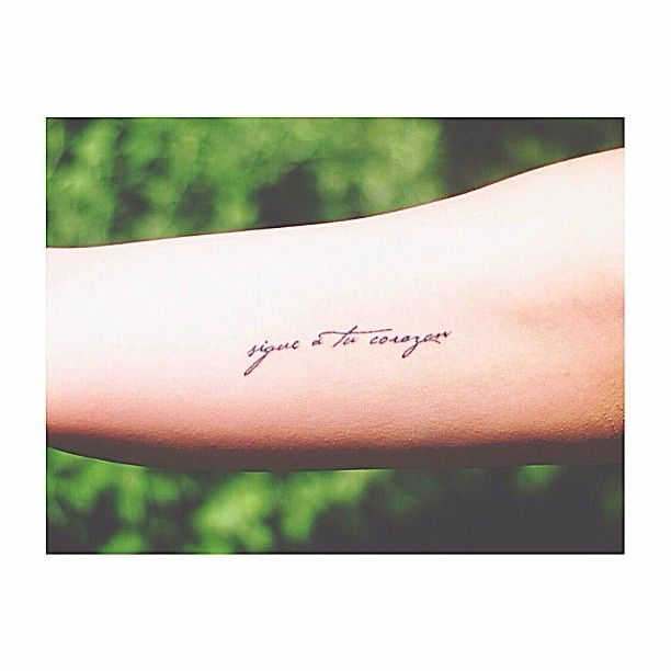 23 Meaningful Tattoos In Spanish You'll Want Immediately