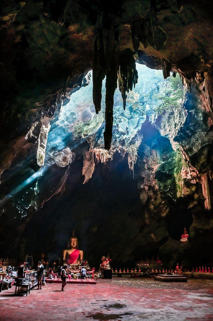 Khao Luang Cave Temple, Phetburi, Thailand
