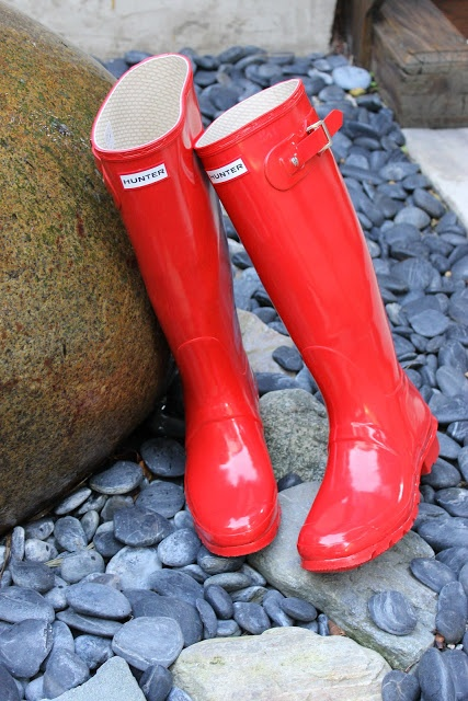 We Love Hunter Boots.