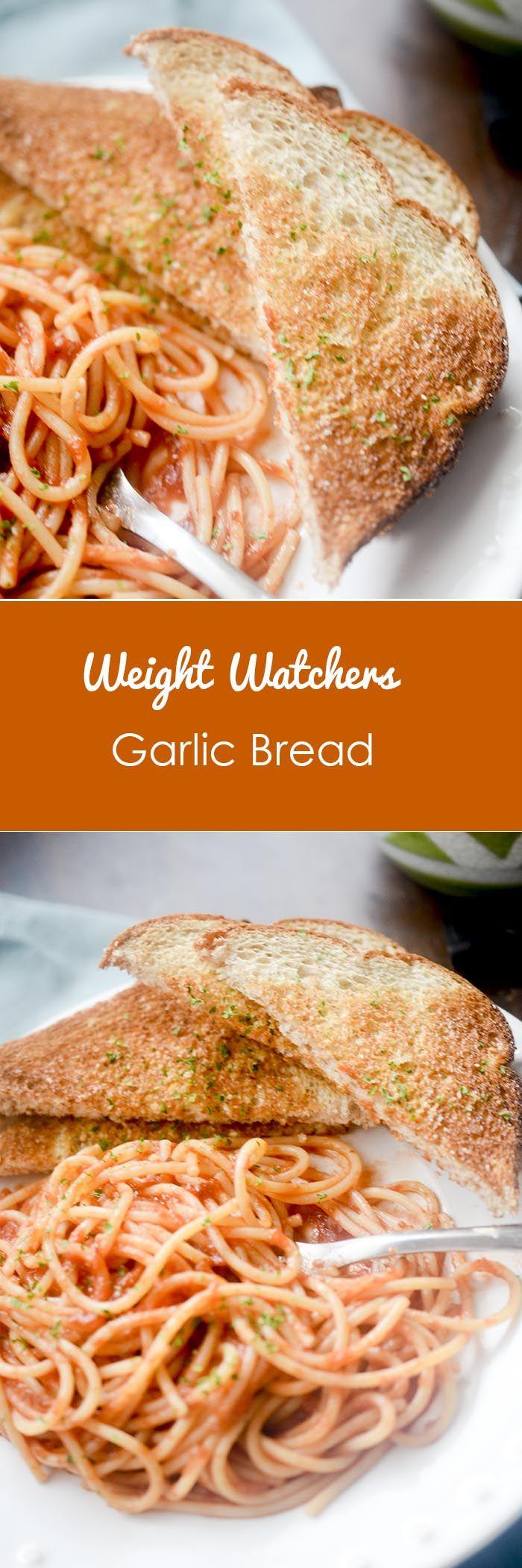 Weight Watchers 1 point Garlic Bread
