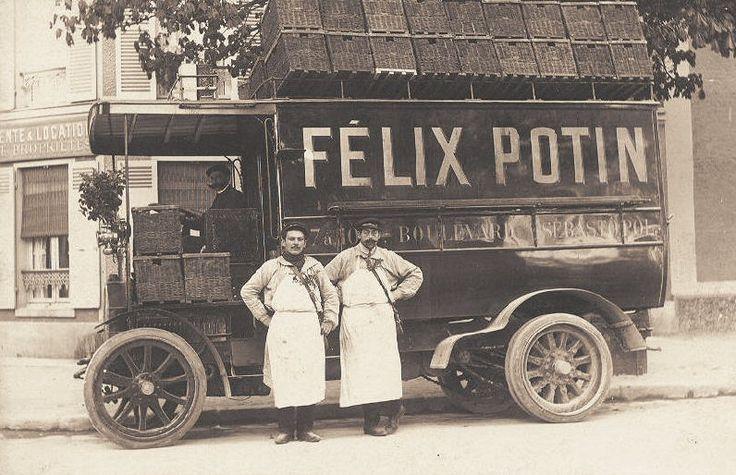 Autre très bel attelage de Félix Potin, mais motorisé...