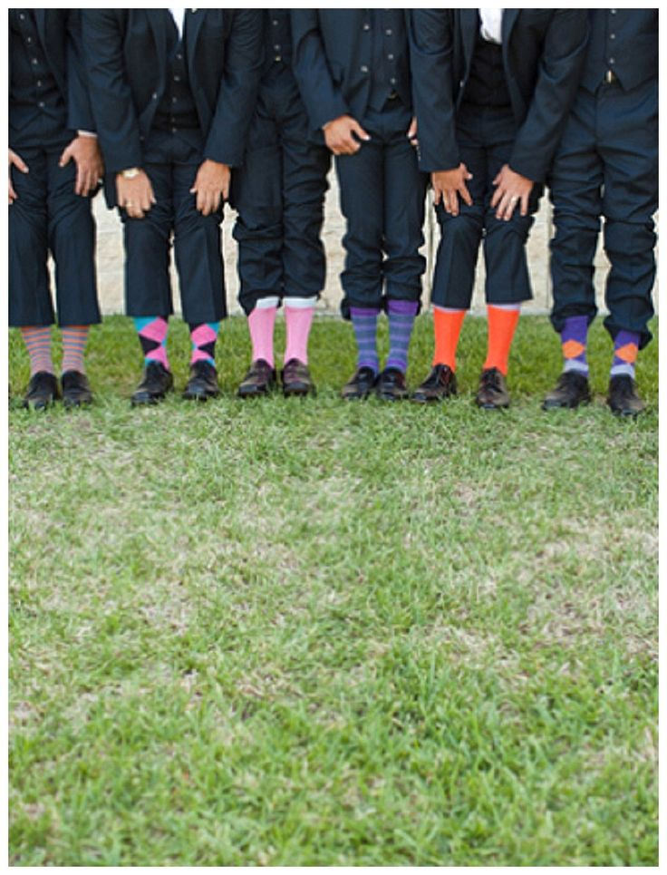 10 Grooms And Their Socks – Blissfully Wed