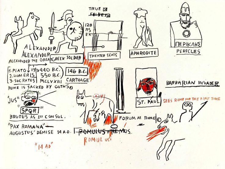#Basquiat Jean-Michel | False 1983