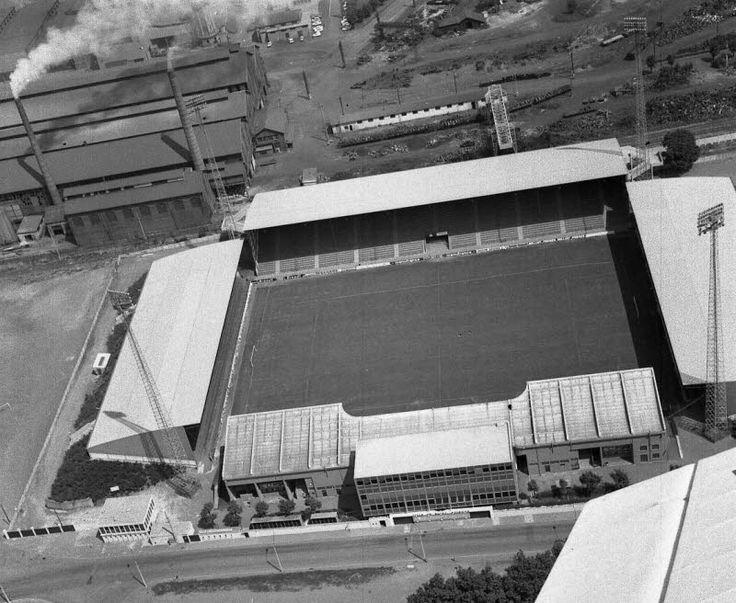 1973 Saint Etienne le stade Geoffroy Guichard