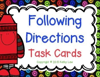Activities that you and your students are sure to love because they are actively engaged as they follow written directions.Students will read a card and follow the given directions.Included are...34 task cardsDirections cardAnswer formsExtra activityAnswer KeyTHANKS for checking out my product and leaving FEEDBACK!!