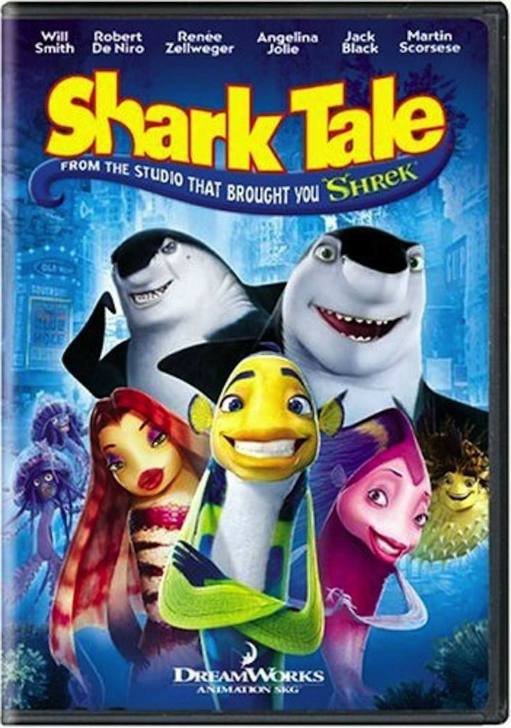 Shark Tale 2004 In 2020 Kid Movies Great Kids Movies Kids Movies