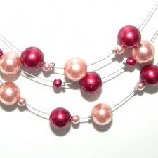 ketting roze parels