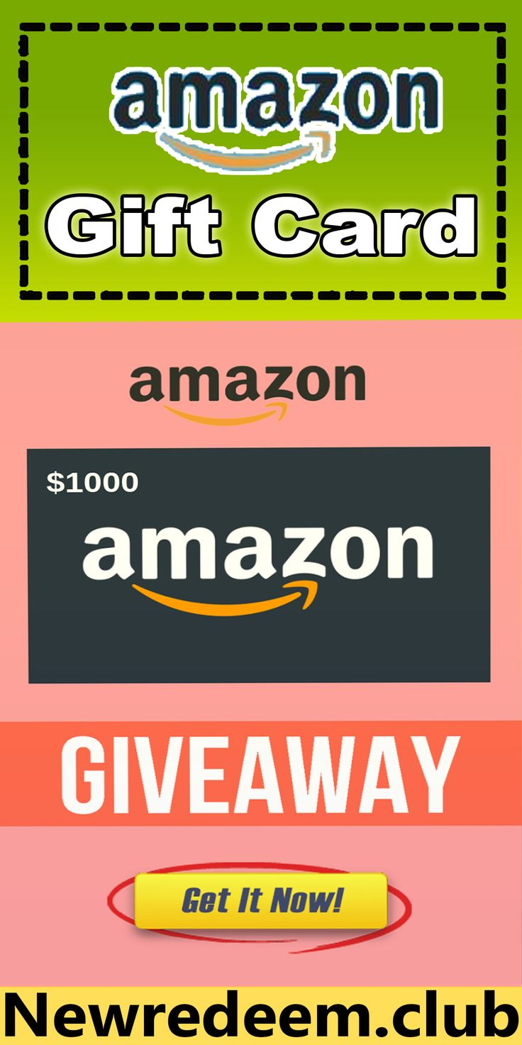 Amazon 1000 gift card giveaway in 2020 amazon gift