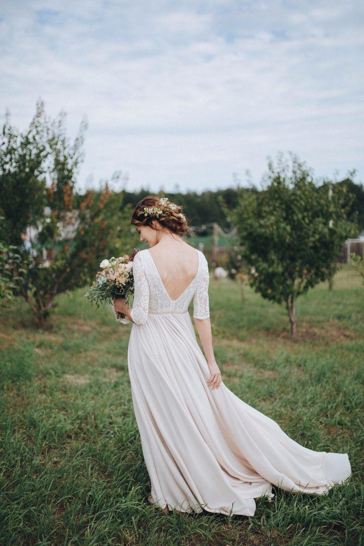 rustic wedding dress свадебное платье в стиле рустик