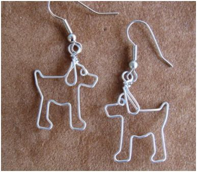 wire+animal+jewelryWire Jewelry, Puppies Dogs, Wire Work, Gem Journals, Dogs Earrings, Beads Gem, Animal Wire, Wirework Nickle Fre, Earrings Wirework