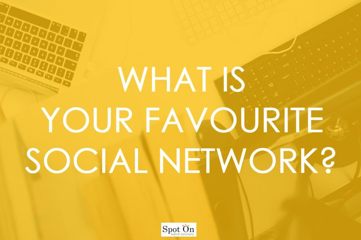 What is your favourite Social Network?