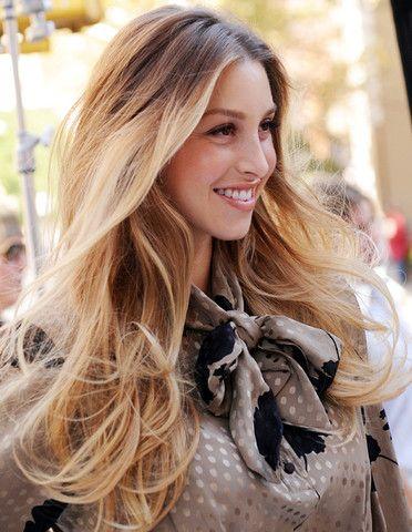 Whitney port healthy blonde hair - #blndn NOURISH YOU nourishing conditioner