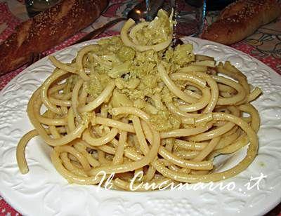 Pasta con cavolfiore e cannella