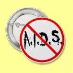 No AIDS Allowed Buttons