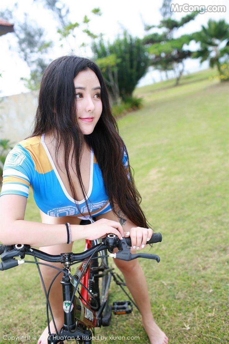 HuaYan Vol.036: Người mẫu Manuela (玛鲁娜) (63 ảnh)
