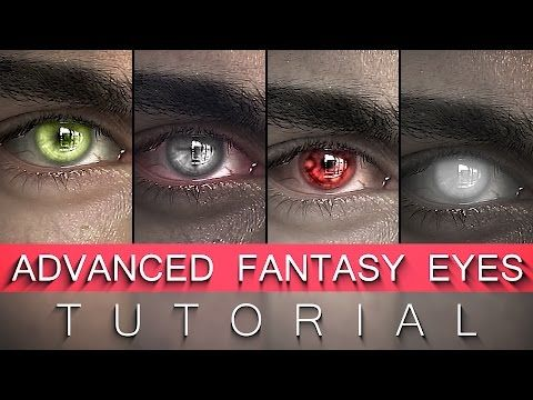 After Effects Fantasy Eyes Tutorial Elf, Witcher, Vampire, Undead - YouTube