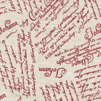 In imprimat - Writing Red, materiale,