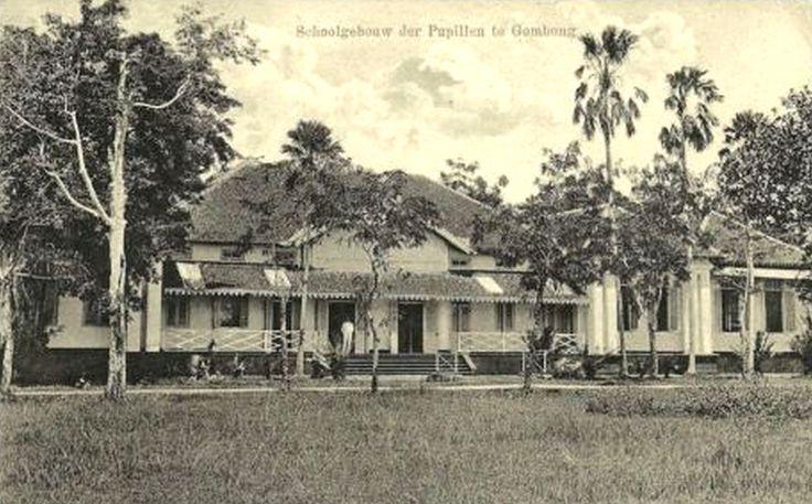 School van het Korps Pupillen van het KNIL te Gombong. (nog steeds in gebruik)