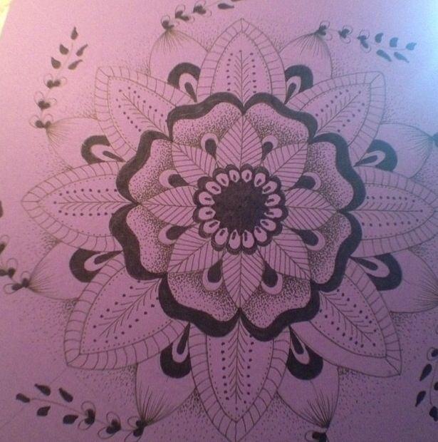 Mandala #artsdrica