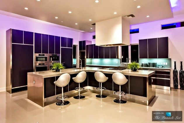 The Hurtado Residence In Las Vegas NV Kitchen Modern Home And Beautiful