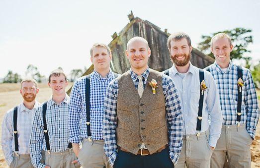 country weddings groomsmen | ... blue, gingham, men's shirts, navy blue, plaid, Groomsmen, Fall, party