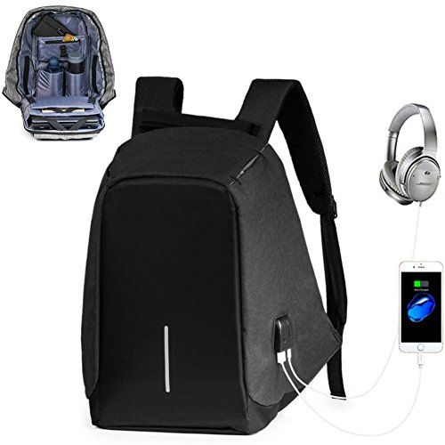Offerta Di Oggi Zaino Laptop Porta Pc Impermeabile Zaini Multi Funzione Scuola Borsa Zaino Laptop Daypack Antifurto Con Cavo Di Backpacks Bags Sling Backpack