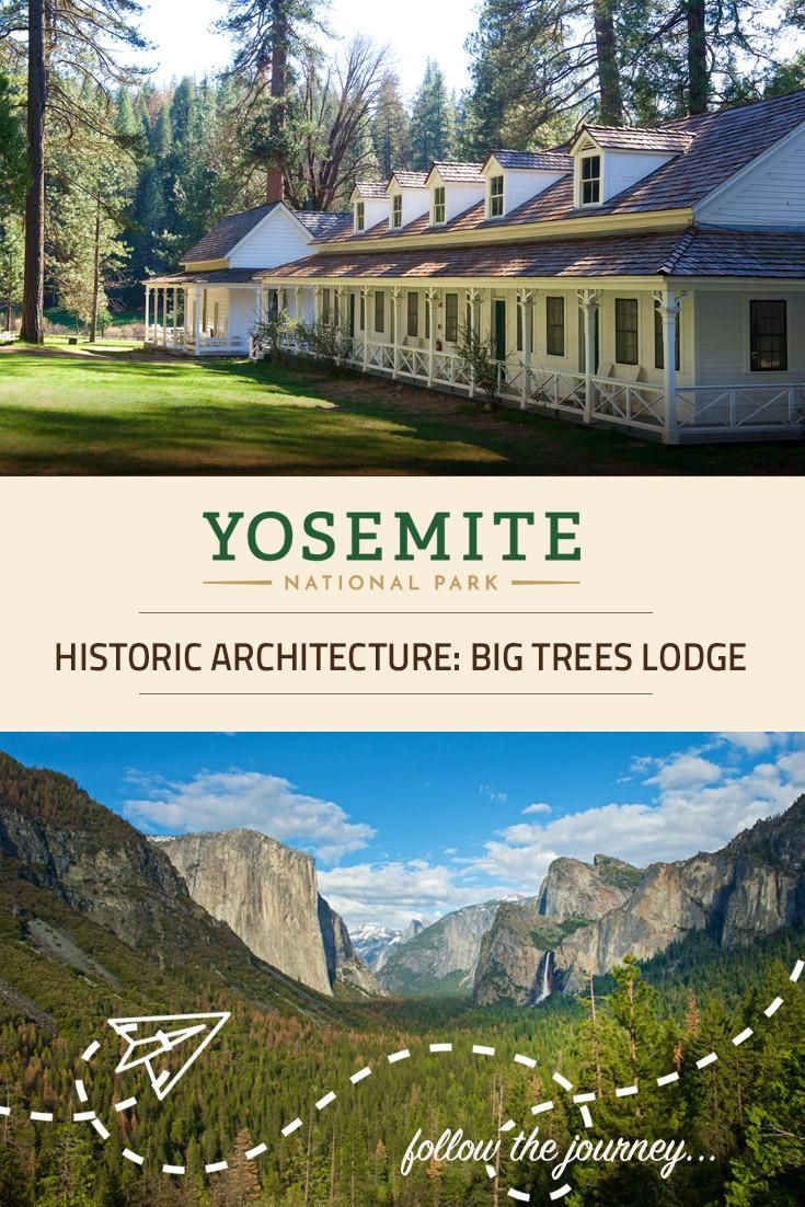 Big Trees Lodge is one of the most frequently visited Yosemite hotels in Yosemite National Park. Its authentic Victorian architecture features beautiful white buildings, classic verandas, and lush natural surroundings.